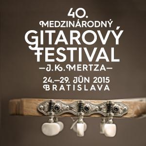 40. Medzinárodný gitarový festival J. K. Mertza