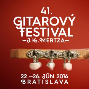 41. Gitarový festival J. K. Mertza