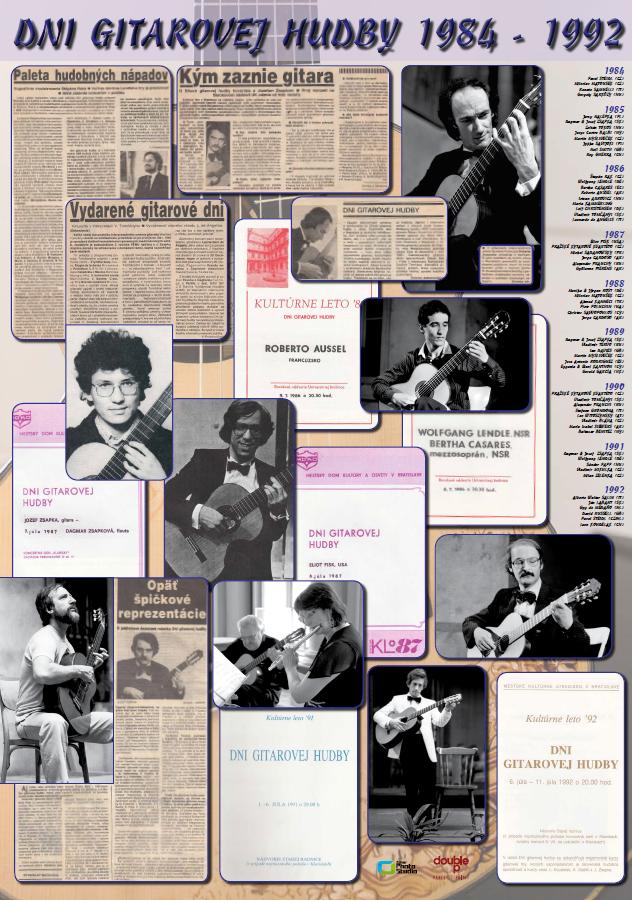 Dni gitarovej hudby 1984 - 1992