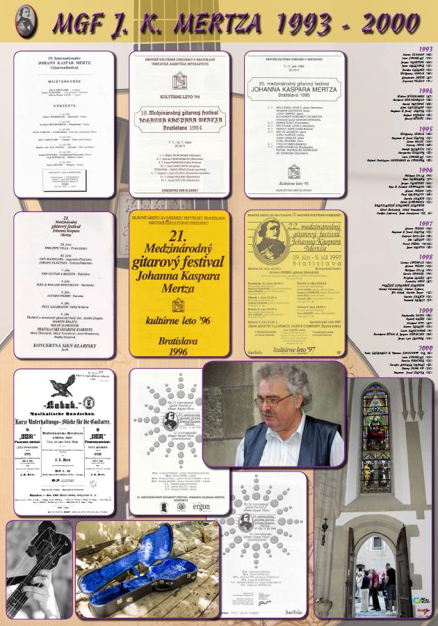 Mdzinárodný gitarový festival J. K. Mertza 1993 - 2000