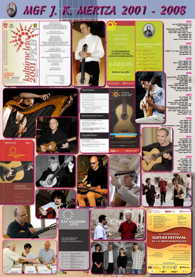 Medzinárodný gitarový festival J. K. Mertza 2001 - 2008