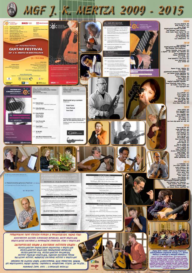 Medzinárodný gitarový festival J. K. Mertza 2009 - 2015